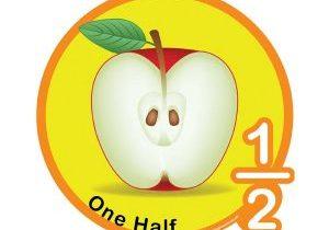 Half apple